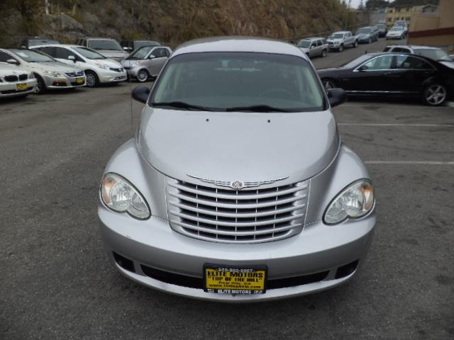 2008 CHRYSLER PT CRUISER BASE 4DR WAGON silver body color bodyside molding fleetinferno red cry