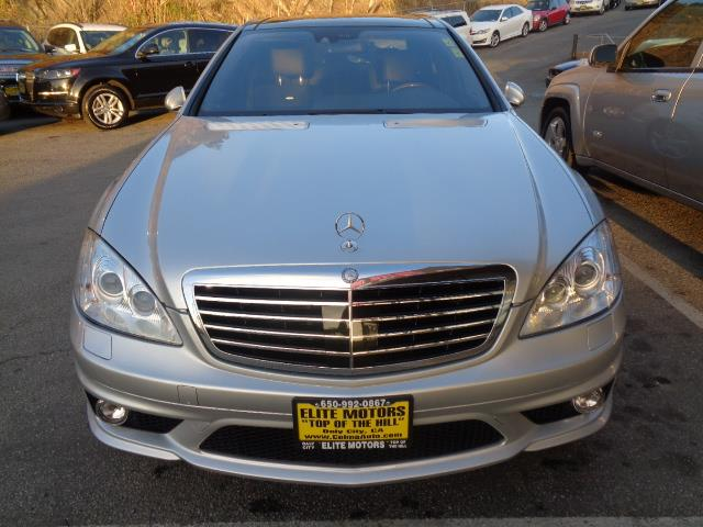 2007 MERCEDES-BENZ S-CLASS S65 AMG 4DR SEDAN silver navigation panoramic roof back up camera gri