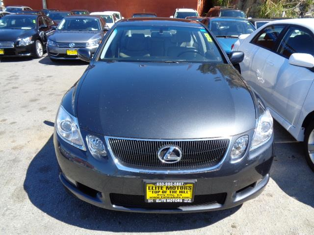 2007 LEXUS GS 350 BASE 4DR SEDAN smoky granite mica air filtration - active charcoalcenter conso