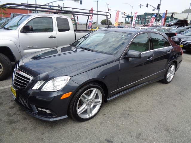 2011 MERCEDES-BENZ E-CLASS E350 SPORT 4DR SEDAN steel grey sport package navigation amg wheels