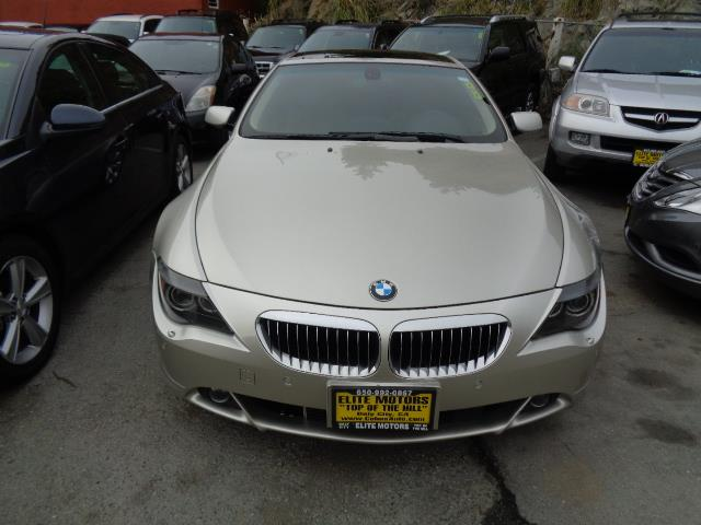 2007 BMW 6 SERIES 650I 2DR COUPE mineral silver metallic grille color - chromeair filtration - a