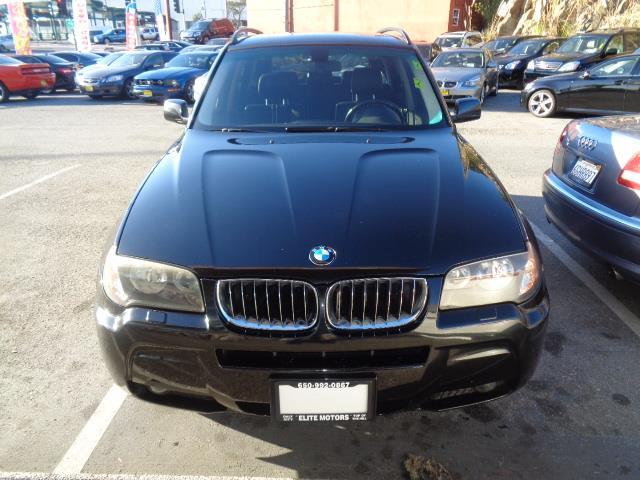 2006 BMW X3 30I AWD 4DR SUV jet black air filtrationcenter console trim - wooddoor trim - wood
