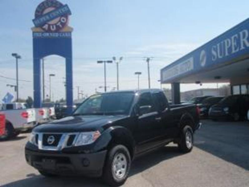 2015 nissan frontier for sale for T and d motors bethany ok