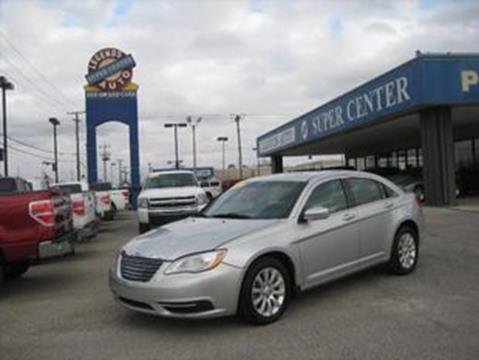 2012 Chrysler 200 for sale in Bethany, OK