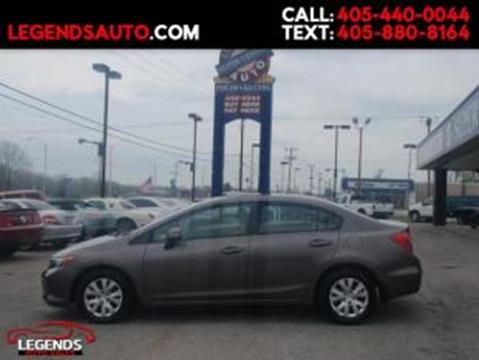 2012 honda civic for sale in oklahoma for T and d motors bethany ok