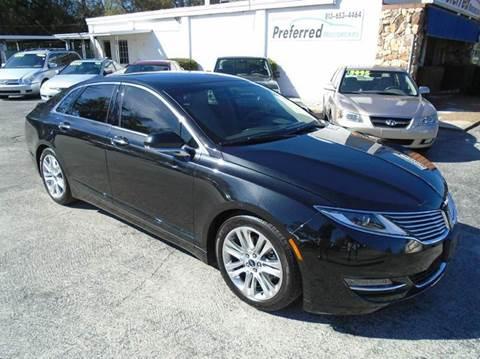 2014 Lincoln MKZ for sale in Brandon, FL