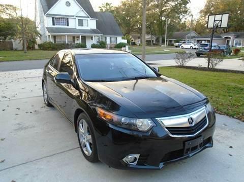 2012 Acura TSX for sale in Brandon, FL