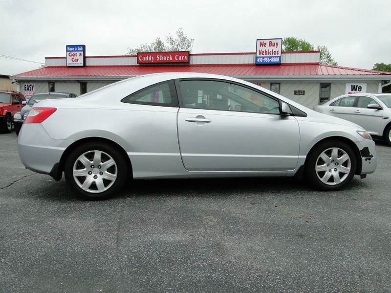 2009 honda civic lx 2dr coupe 5a in edgewater md caddy shack cars. Black Bedroom Furniture Sets. Home Design Ideas