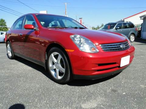 2003 Infiniti G35 for sale in Edgewater, MD
