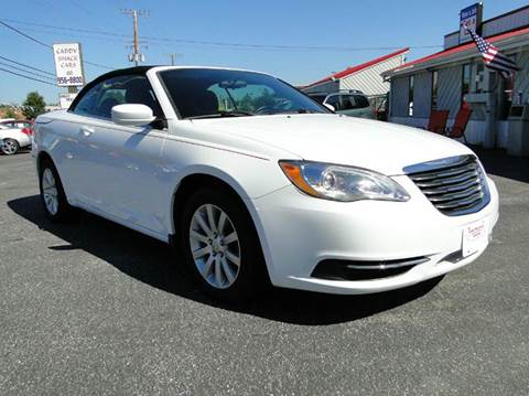 2012 Chrysler 200 Convertible for sale in Edgewater, MD