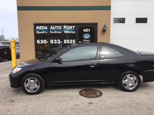 2005 Honda Civic LX 2dr Coupe w/Front Side Airbags - Villa Park IL