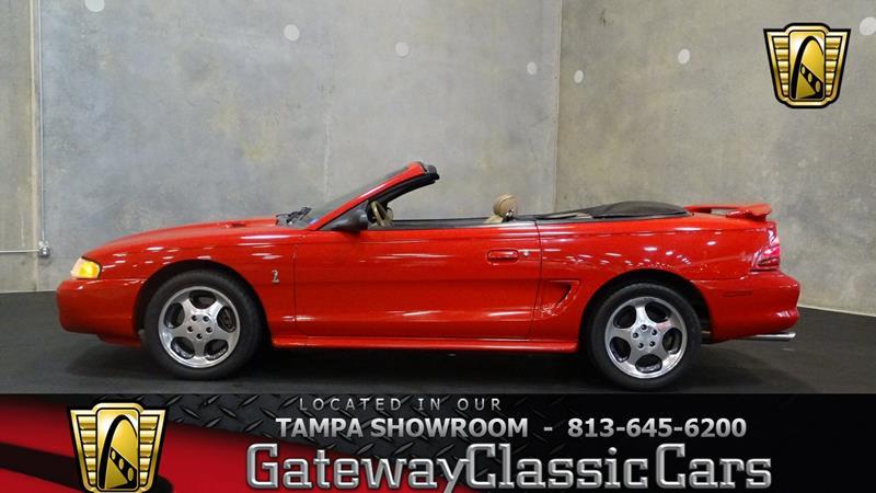 1994 Ford Mustang Svt Cobra For Sale In Seguin Tx Carsforsale Com
