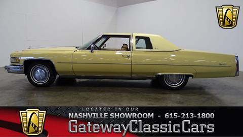 1975 Cadillac Deville For Sale In Caribou Me Carsforsale Com
