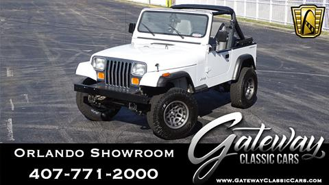 1991 Jeep Wrangler for sale in O Fallon, IL