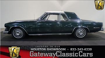 1964 Studebaker Gran Turismo for sale in O Fallon, IL