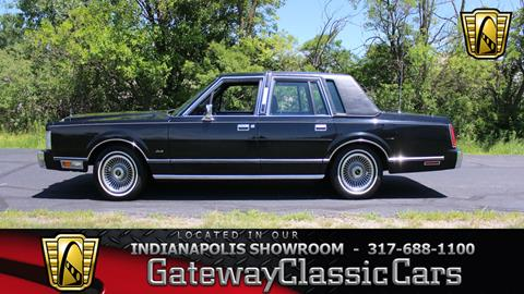 1988 Lincoln Town Car For Sale In Maryland Carsforsale Com