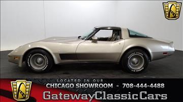 1982 Chevrolet Corvette for sale in O Fallon, IL