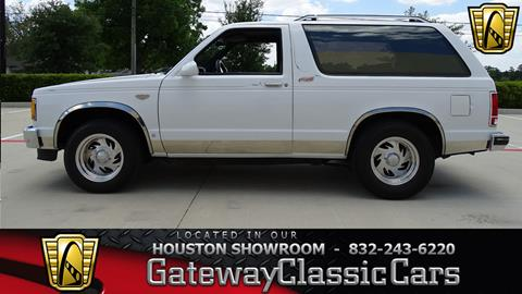 Chevrolet S 10 Blazer For Sale Carsforsale Com