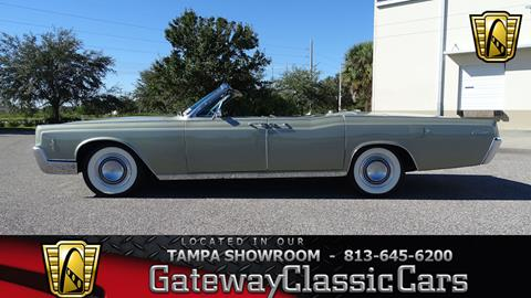 1966 Lincoln Continental For Sale Carsforsale Com