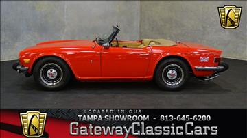 1976 Triumph TR6 for sale in O Fallon, IL