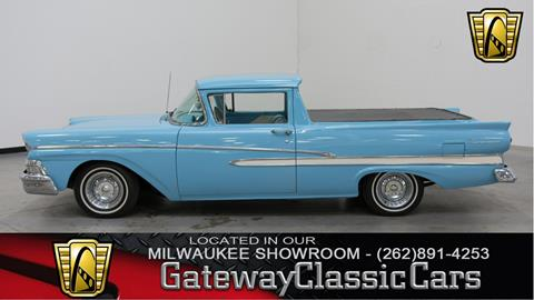 1958 ford ranchero for sale in new mexico. Black Bedroom Furniture Sets. Home Design Ideas