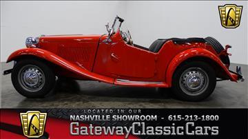 1951 MG TD for sale in O Fallon, IL