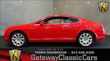2005 Bentley Continental GT for sale in O Fallon, IL