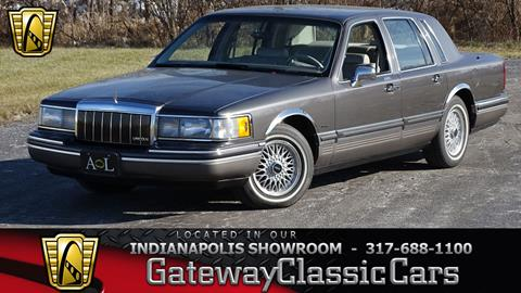 1992 Lincoln Town Car For Sale In Woodbury Nj Carsforsale Com