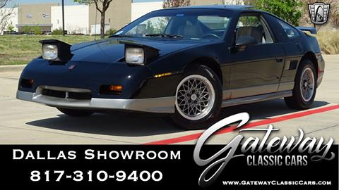 1986 Pontiac Fiero for sale in O Fallon, IL