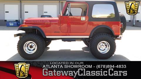 1986 Jeep CJ-7 for sale in O Fallon, IL