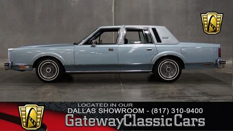1982 Lincoln Town Car For Sale Carsforsale Com
