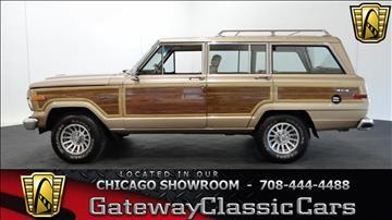 1990 Jeep Grand Wagoneer for sale in O Fallon, IL