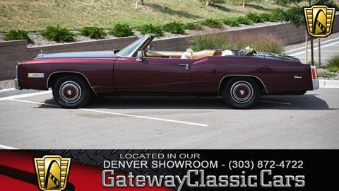 Cadillac Eldorado For Sale In Caribou Me Carsforsale Com