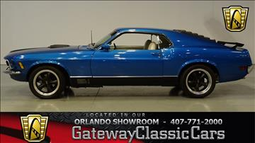 1970 Ford Mustang For Sale  Carsforsalecom