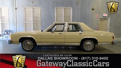 1987 Ford LTD Crown Victoria for sale in O Fallon, IL