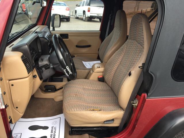 1999 Jeep Wrangler 2dr Sport 4WD SUV - Hickory NC