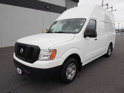 2012 Nissan NV Cargo for sale in Burlington, WA