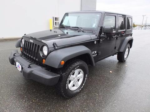 2007 Jeep Wrangler Unlimited for sale in Burlington, WA