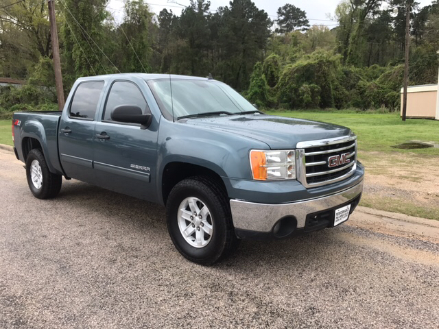 2012 GMC Sierra 1500 4x4 SLE 4dr Crew Cab 5.8 ft. SB - Livingston TX