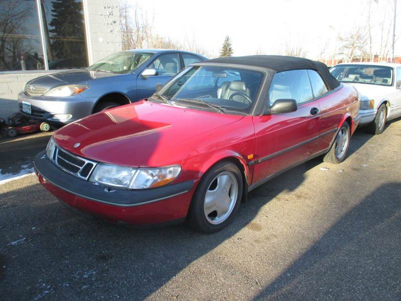 1996 saab 900 se turbo 2dr convertible in mound mn. Black Bedroom Furniture Sets. Home Design Ideas