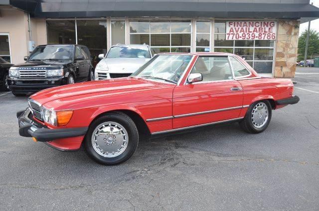 1986 Mercedes-Benz 560-Class