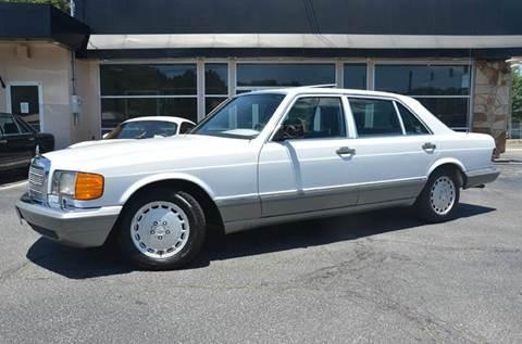 1987 Mercedes-Benz 420-Class