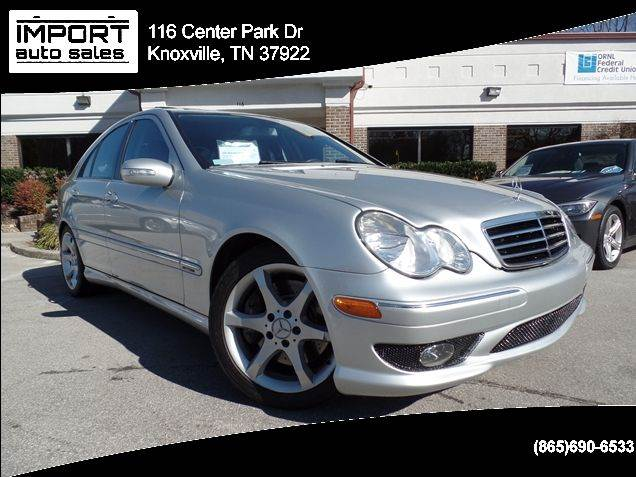 2007 mercedes benz c class c230 sport 4dr sedan in for Knoxville mercedes benz