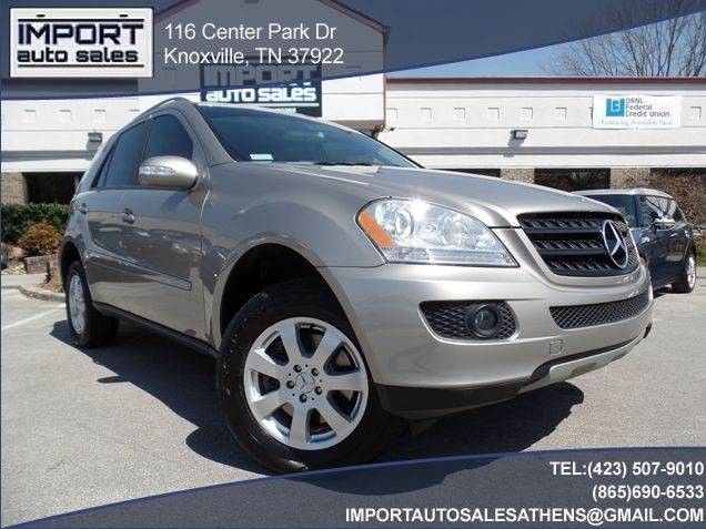 2006 mercedes benz m class awd ml350 4matic 4dr suv in for Mercedes benz of knoxville tn