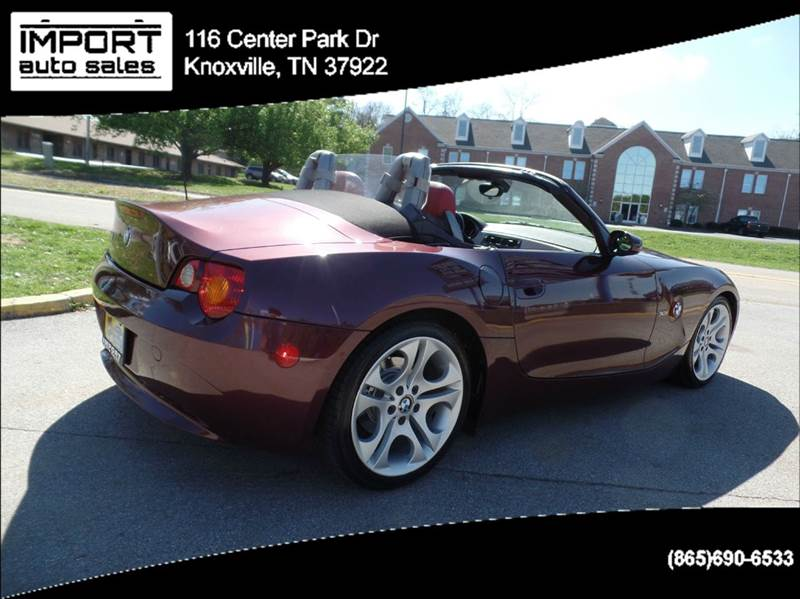 2003 BMW Z4 3.0i 2dr Roadster - Knoxville TN