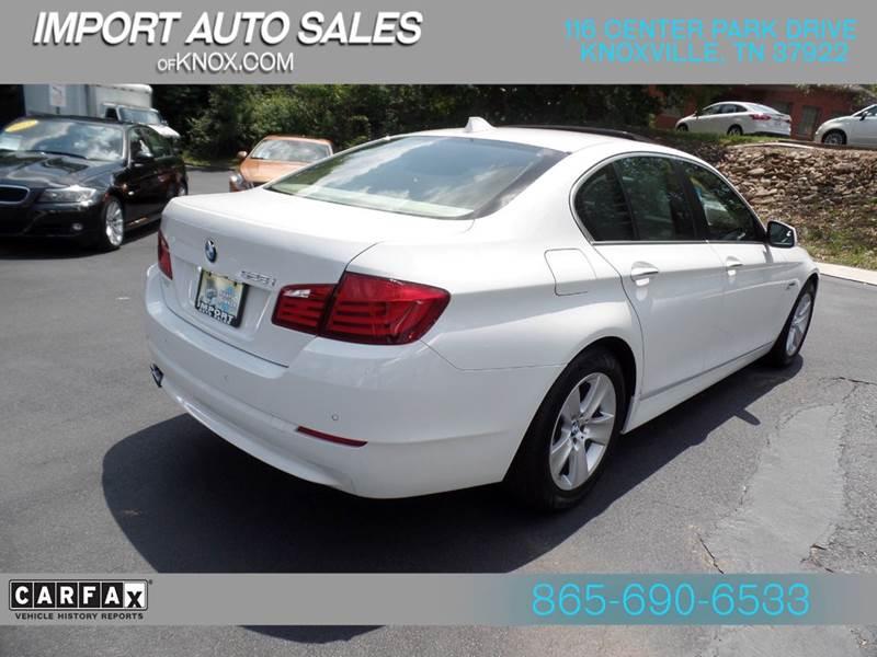2011 BMW 5 Series 528i 4dr Sedan - Knoxville TN