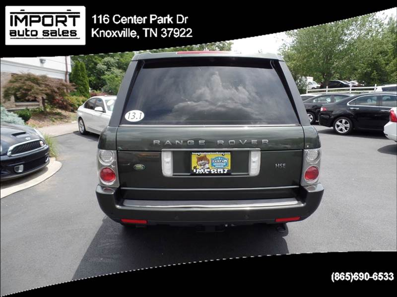 2006 Land Rover Range Rover HSE 4dr SUV 4WD - Knoxville TN