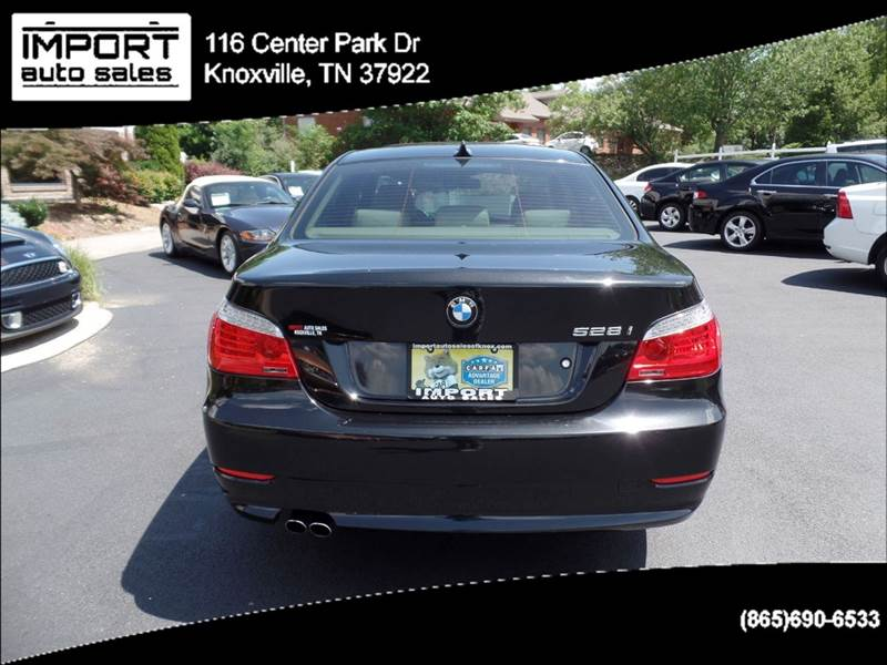 2008 BMW 5 Series 528i 4dr Sedan Luxury - Knoxville TN