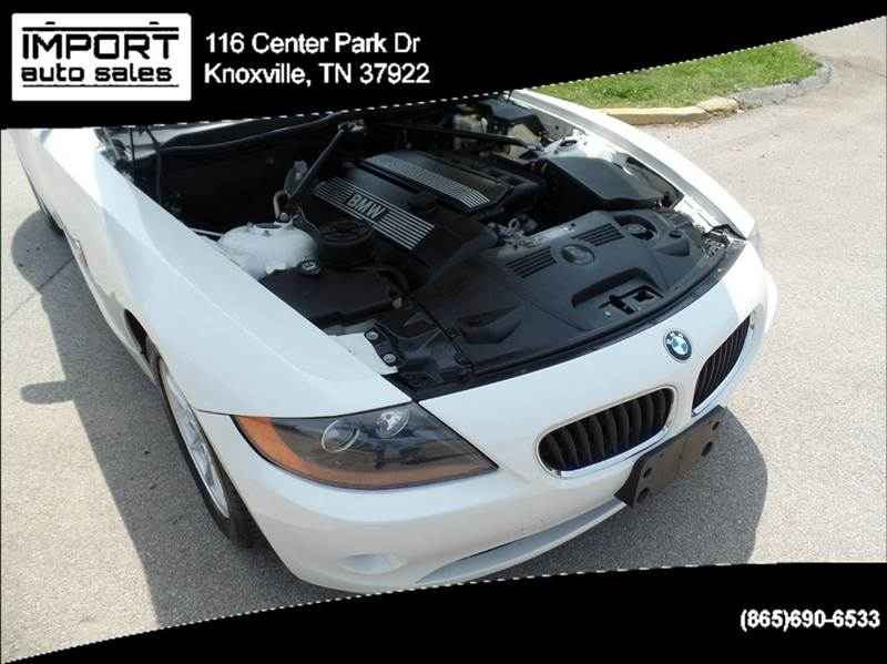 2003 BMW Z4 2.5i 2dr Roadster - Knoxville TN