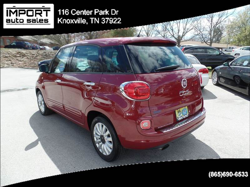 2014 fiat 500l easy 4dr hatchback in knoxville tn import. Black Bedroom Furniture Sets. Home Design Ideas